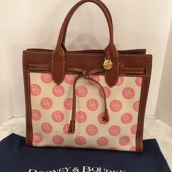 Dooney & Bourke Handbags - Dooney & Bourke Signature Satchel Vintage